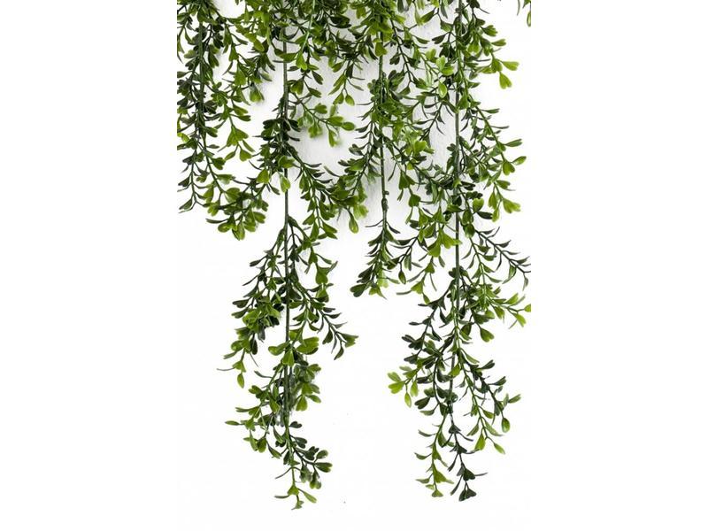 Kunst hangplant Buxus 75 cm