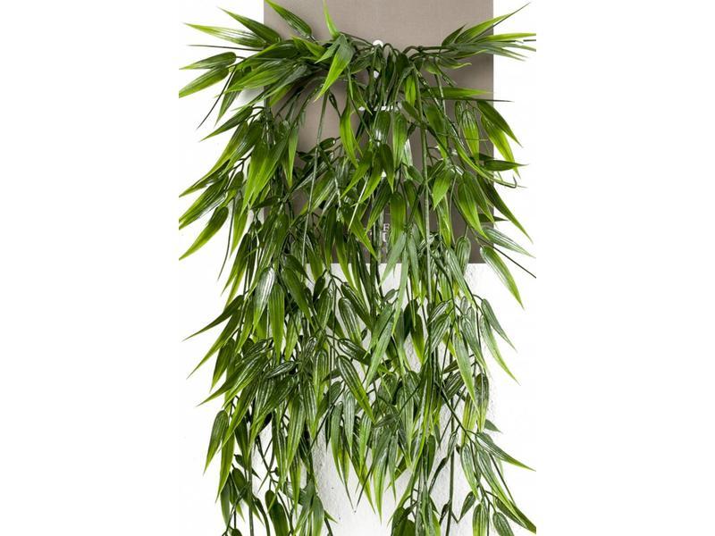 Kunst hangplant bamboe 75 cm