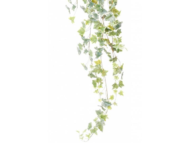 Kunst hangplant bonte klimop 120 cm