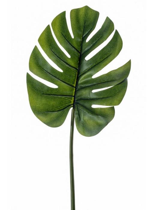 Monstera (gatenplant) kunstblad 73cm