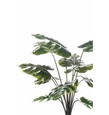 Kunstplant Monstera  (gatenplant) 80cm