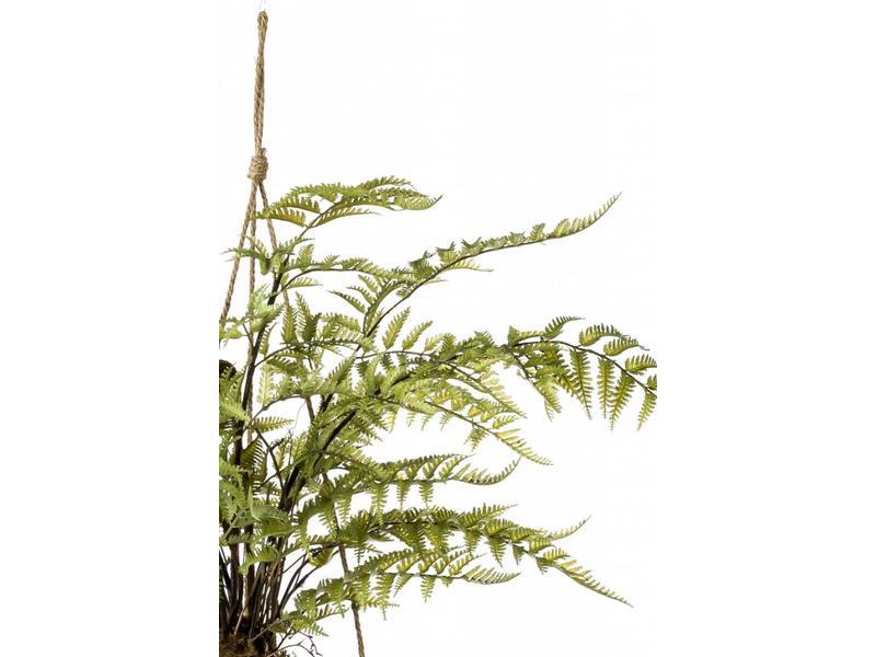 Kunst varen hangplant 45cm