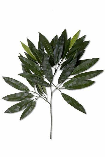 Kunstblad Mango 63 cm groen brandvertragend