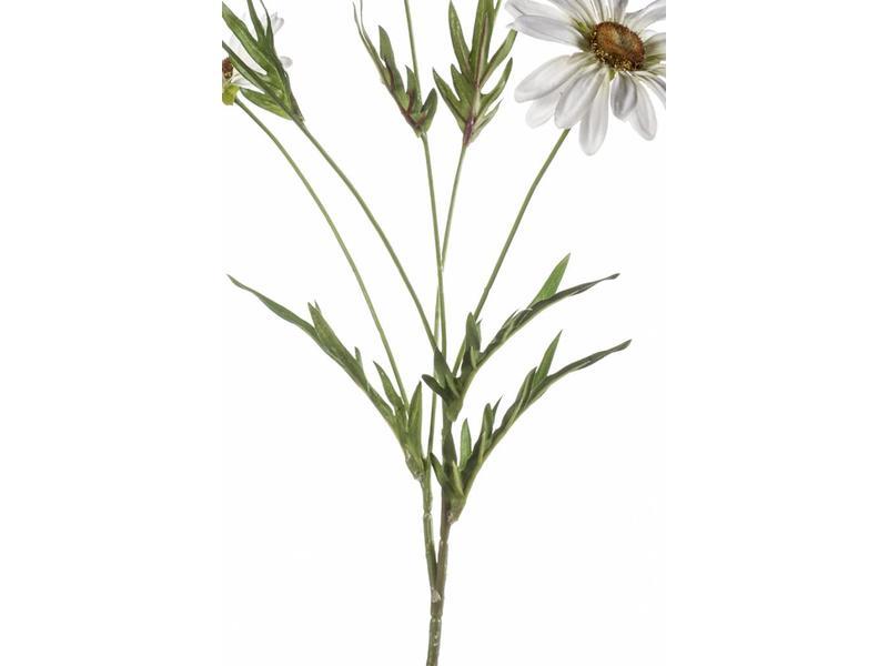 Kunstbloem margriet wit 78 cm