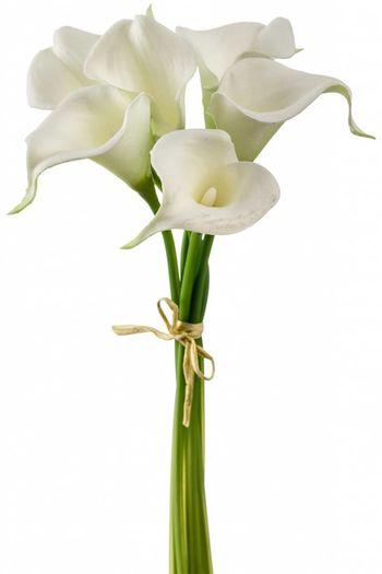 Kunst lelies wit 35 cm