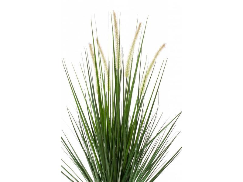 Kunst grasplant Alopecurus 90cm in pot