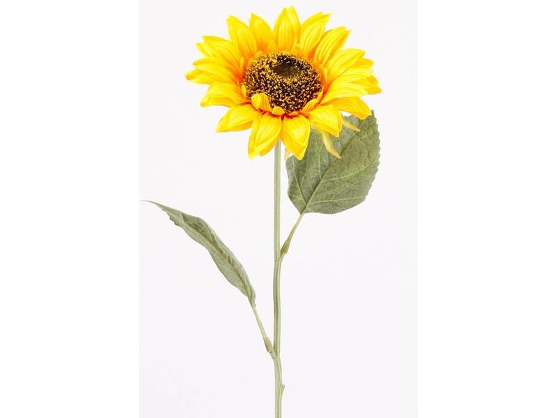 Kunst zonnebloem 62 cm