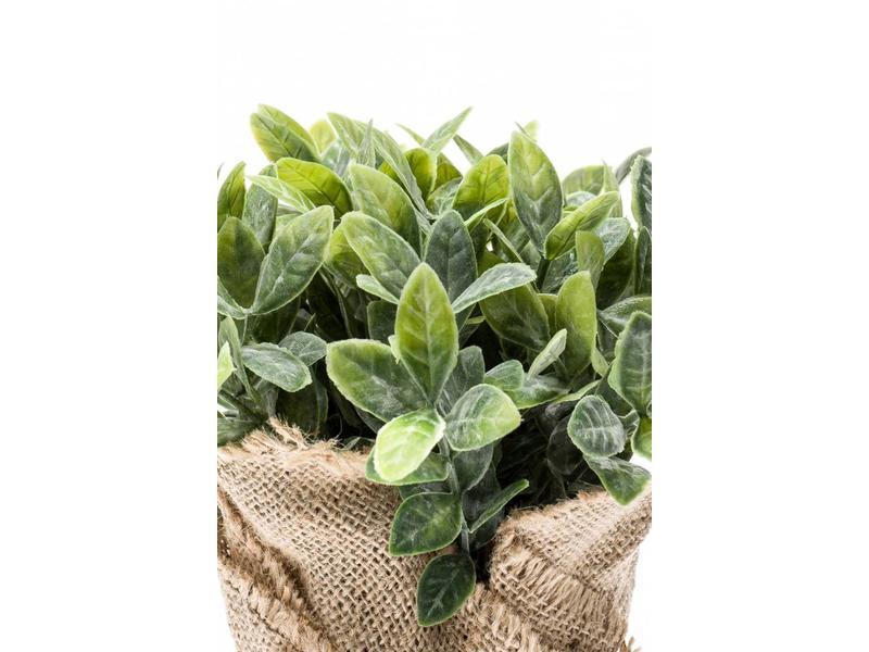 Kunst kruidenplant munt 19 cm