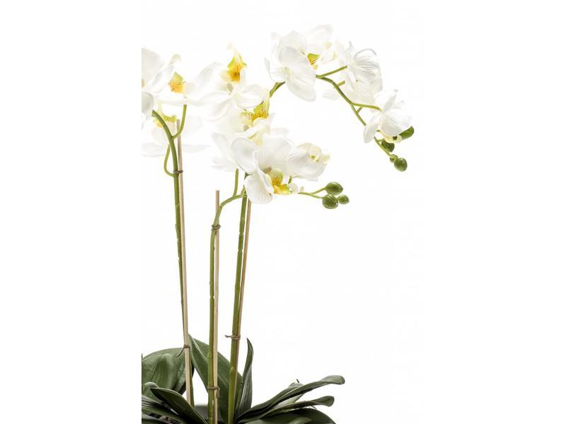 Kunst Phalaenopsis orchidee wit 60cm