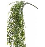 Kunst hangplant bamboe mix 80 cm UV