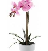 Kunst Phalaenopsis orchidee roze 65cm