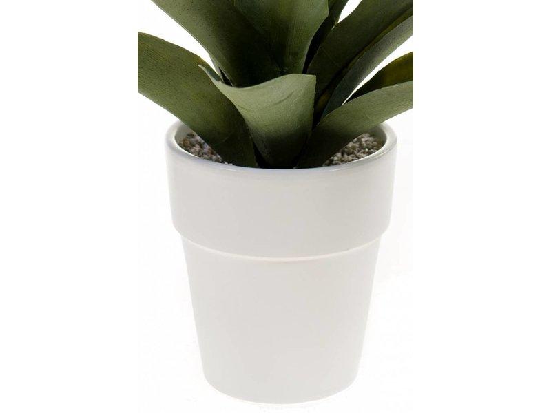 Kunst Agave 30 cm in pot
