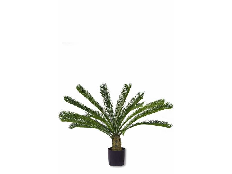 Kunstplant  Cycus Palm Deluxe 0.95m