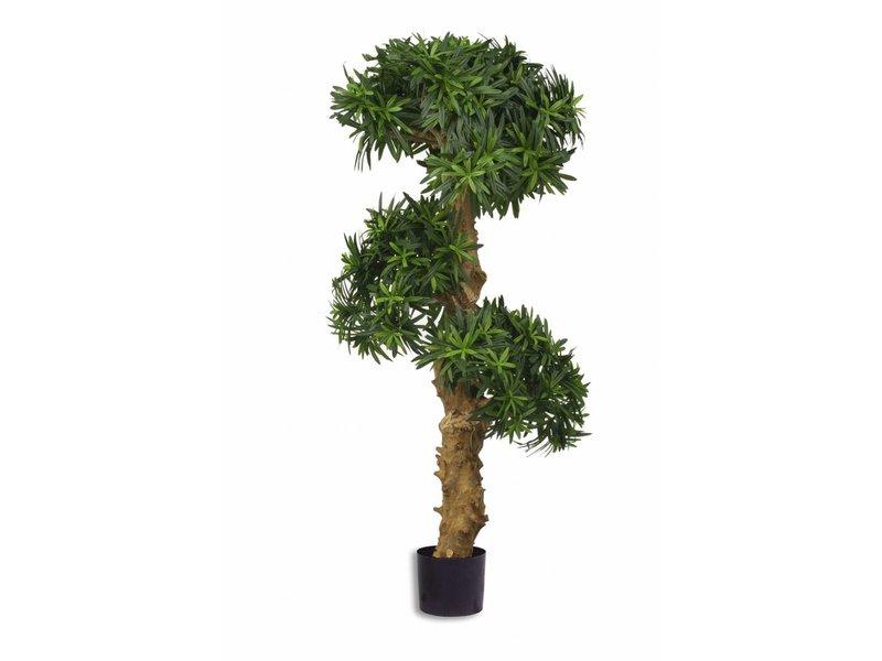 Kunstplant Podocarpus Bonsai 110 cm