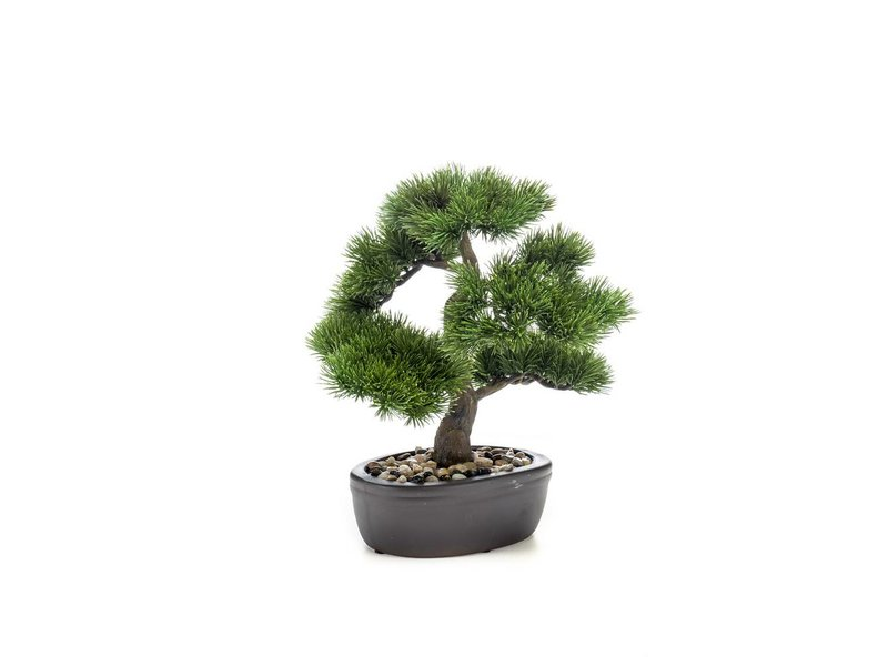 Kunst bonsai Pinus 32 cm in pot