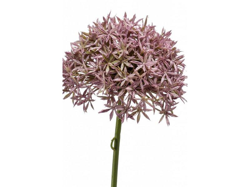 Allium kunstbloem 62 cm lila