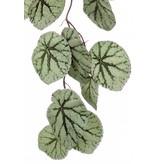 Kunst hangtak Begonia 110 cm grijs