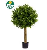 Kunst Buxusbol op stam 50cm UV