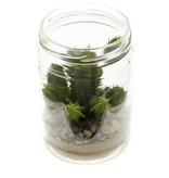 Kunst Cactus groen 18cm
