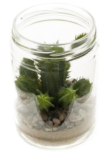 Kunst Cactus groen 18 cm
