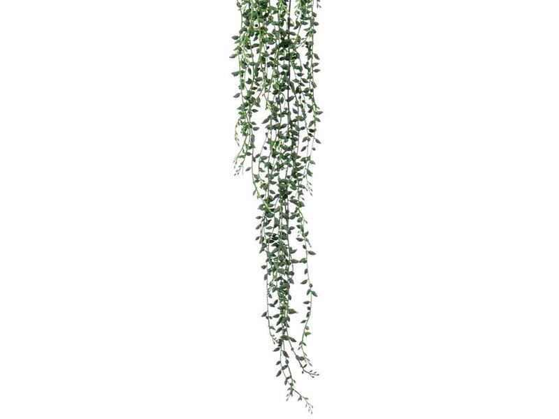 Kunst Senecio hangplant 95cm