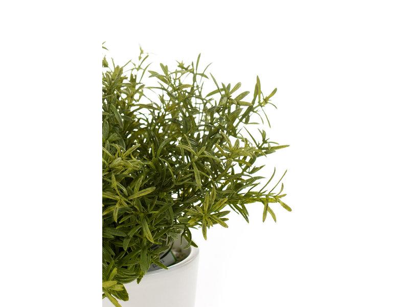 Kunst rozemarijn plant 20cm in pot