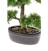 Kunst Cedar bonsai 32cm in pot