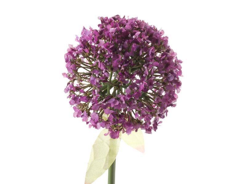 Kunstbloem Allium 70 cm paars