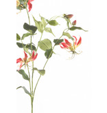 Kunstbloem Gloriosa 120cm fuchsia