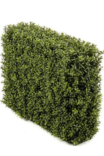 Kunst Buxushaag 70x20x50 cm UV