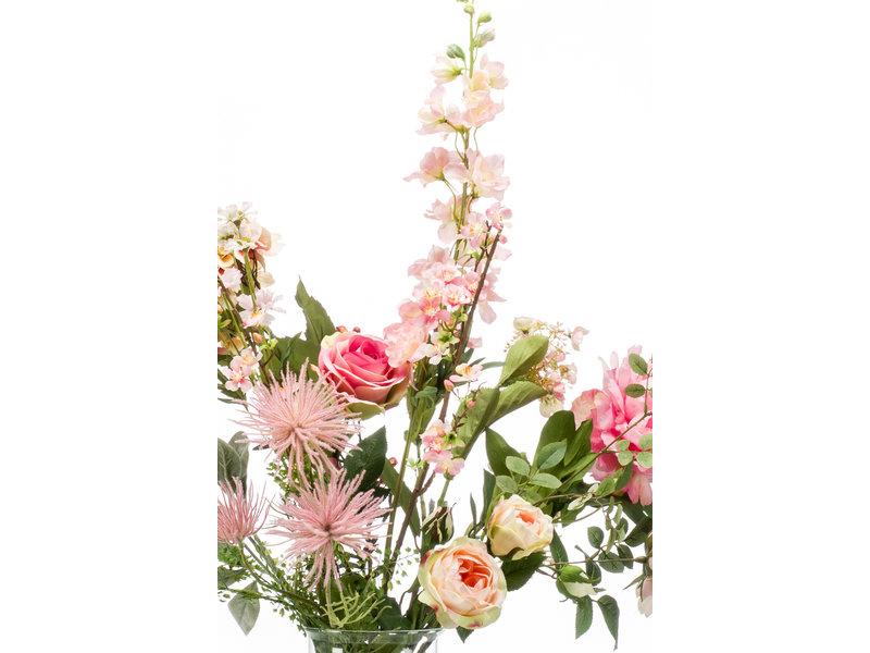 Kunstboeket Pretty Pink 100cm