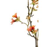Kunstbloem Seven Sons 50 cm oranje