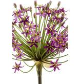 Kunstbloem Allium 90 cm paars