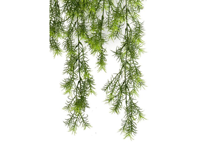 Kunst hangplant Asparagus sprengeri 80cm