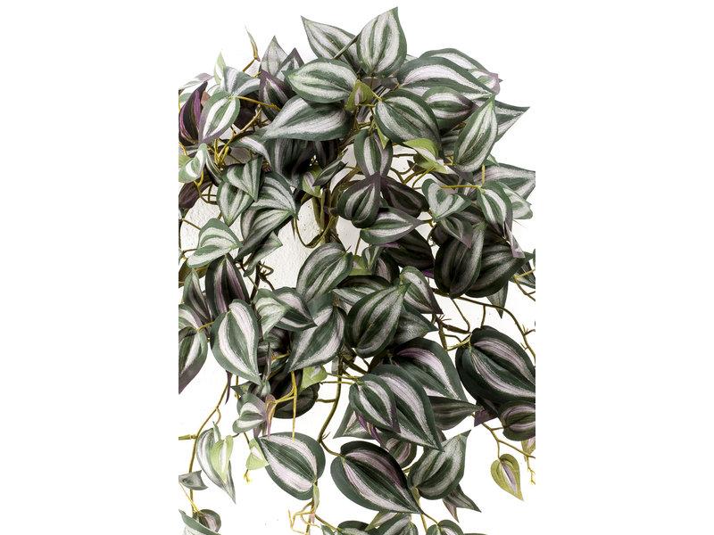 Kunst hangplant Tradescantia 70 cm