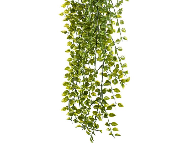 Kunst hangplant ficus pumila UV 80 cm