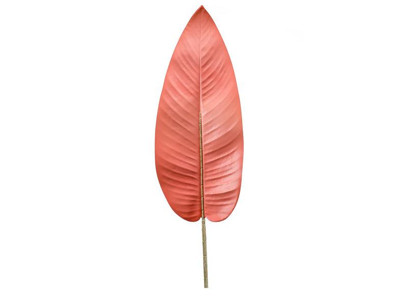 Kunstblad Canna coral 100cm