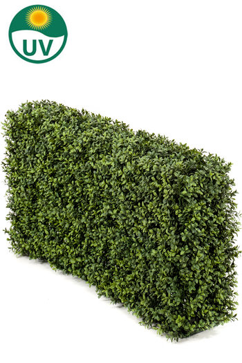 Kunst Buxushaag 100x20x50 cm UV