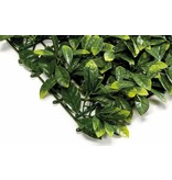 Kunsthaag mat Prunus 50x50cm UV