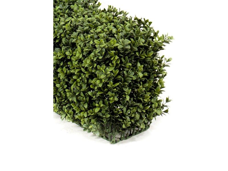 Kunst Buxushaag 100x20x25 cm UV