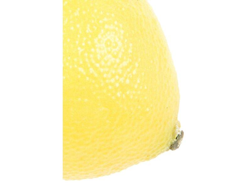 Kunstfruit citroen 8 cm