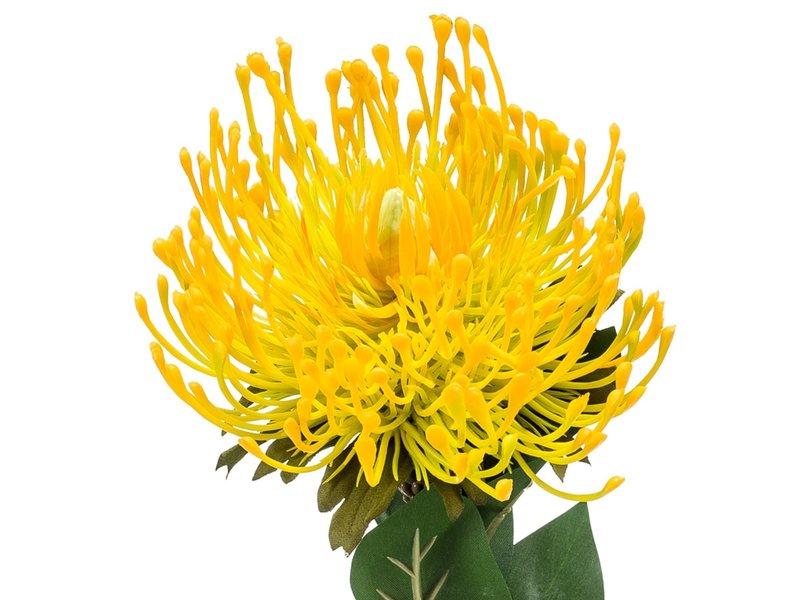 Kunstbloem Nutans geel 72 cm