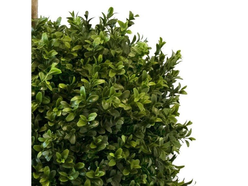 Kunstplant dubbele buxus bol 150 m UV