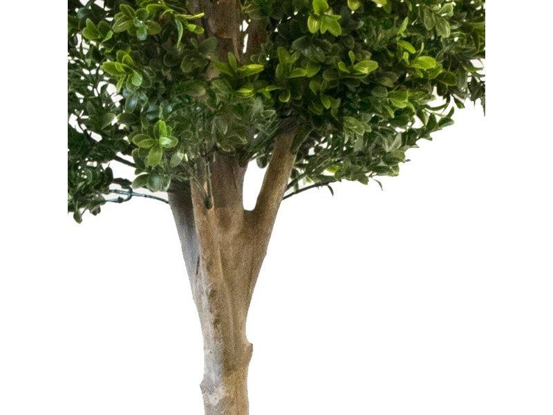 Kunstplant dubbele buxus bol 1.50 m