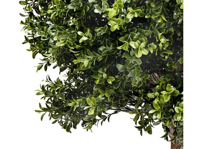 Kunstplant Buxus bal met stam d60 cm UV