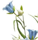 Kunst Klokjesbloem blauw 65 cm