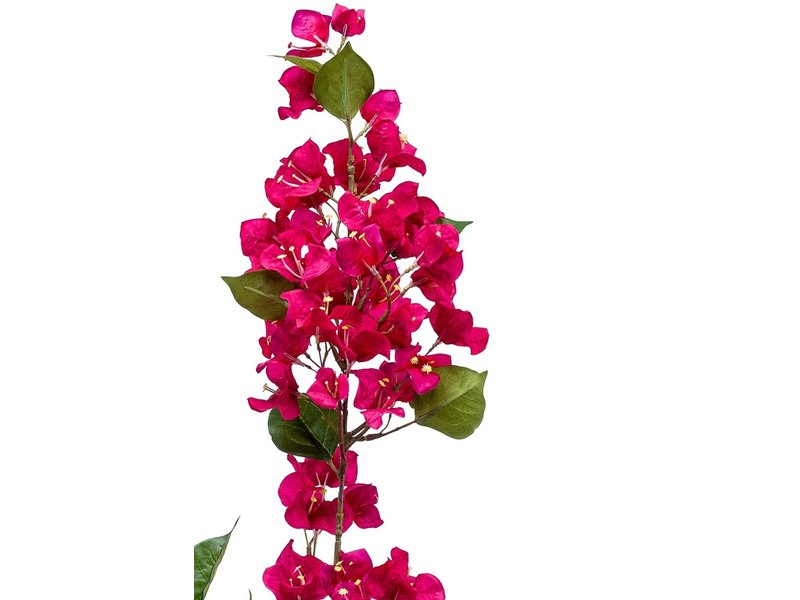 Kunstbloem Bougainvillea fuchsia 117 cm