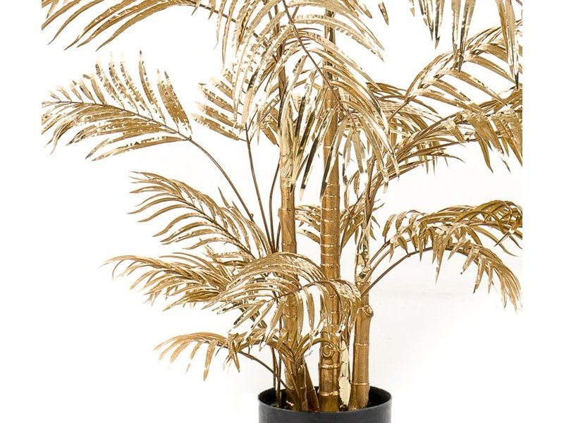 Kunstplant Areca goud 145 cm
