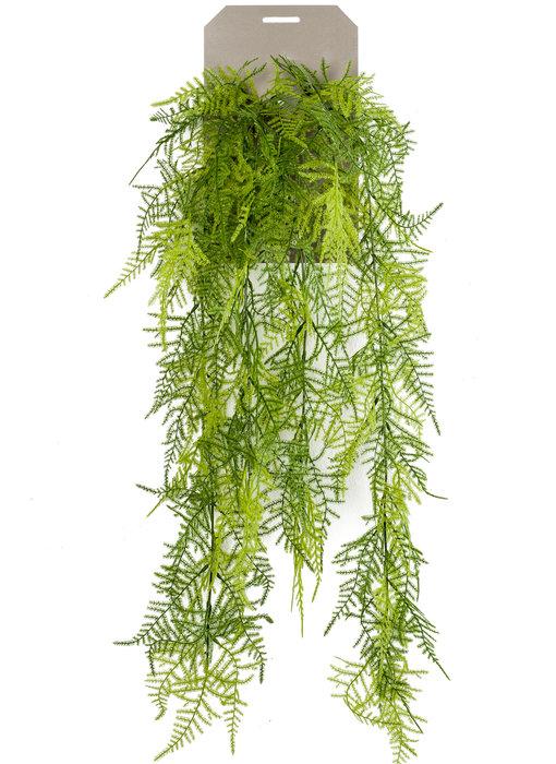 Kunstplant Asparagus hangplant 80 cm