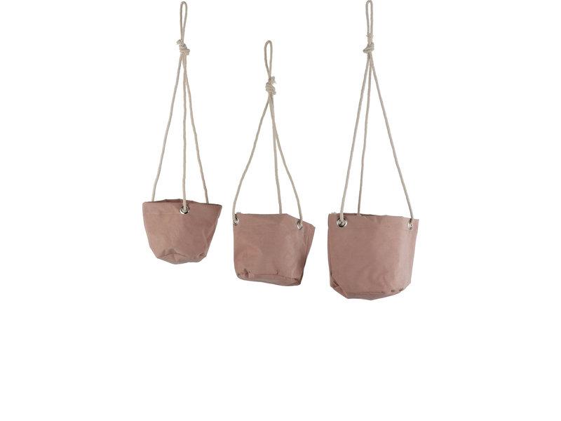 Hangmand Flexi roze set 3 st